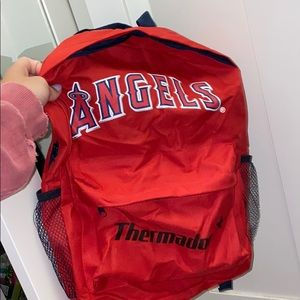 Angels baseball backpack